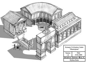 Romans Civilization Centre by MythosRuler