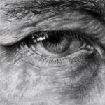 eye.drawing by Art-from-the-heart-x