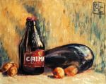 still life with beer by OlgaLo