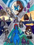 X-Men: Days of Future Past by SonicClone
