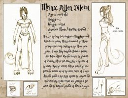 Mrinx's Character Sheet by mrinx