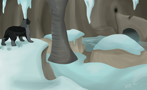 Ice Cave by Bitter-Bitter