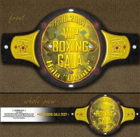 Boxing Gala Ticket by snugsomeone