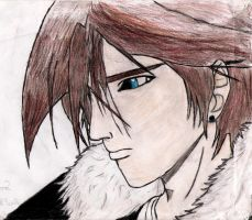 Squall Leonhart ooold drawing by nothing111111