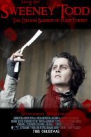 Sweeney Todd Poster Contest 2 by IvyNightwind