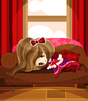 Sleepy Lolita by Abblecrumble