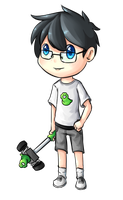 John Egbert by Drawn-Mario