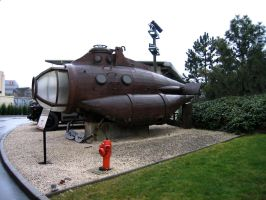 Submarine by Toefje-Kunst
