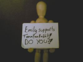 Emily Supports TeamTeaRabbit by TeaRabbitWorks