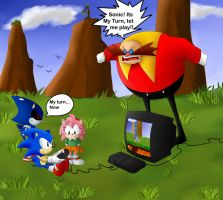 Sonic CD: Gaming unreality by Snowflake-owl