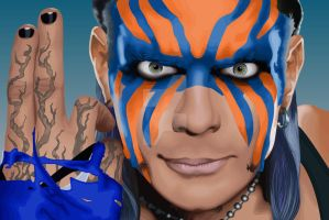 Jeff Hardy by predator-fan