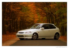 Honda Civic EK9 01. by miki3d