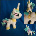 Cute Princess Celestia Plush by Jhaub1
