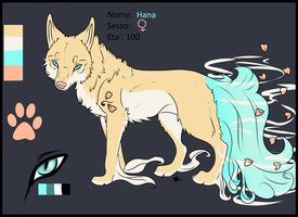 Character sheet: Hana- Contest Entry by by x-aki