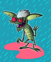 Stripe the Gremlin by Moon-manUnit-42