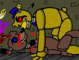 Five nights at Freddy's Yaoi 3! (GoldyxFreddy) by YaoiLover113