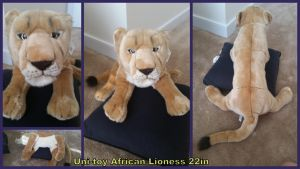 Unitoy African Lioness 22in by Vesperwolfy87
