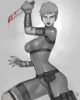 Viper Sketch Commission by DJOK3