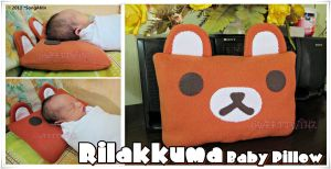 Rilakkuma Baby Pillow by SongAhIn