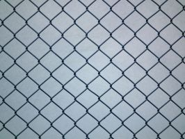 Wire-Mesh Fence Closer by Limited-Vision-Stock