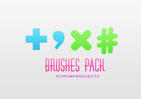 +Brush pack. | ASL download. by Romina-panquesito