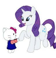 MLP- Why Hello there Kitty by Kenichi-Shinigami