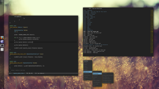 Fedora 15 openbox by dodelria
