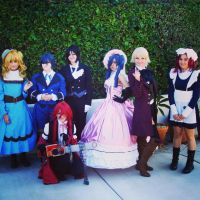 The Group Photo Black Butler by AngelicReaper21