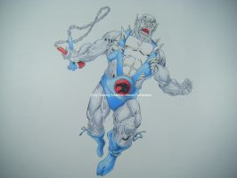 Thundercats Panthro Fan art by DrawingArtistMan