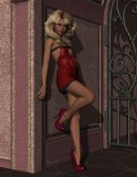 Buffy, Lady in Red by WOW-Creations
