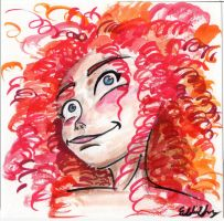 Brave Merida 2 by Squall1015