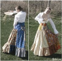 Japanese style skirt by Zulma-san