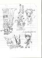Baka and Test Oc's and Others by nakanakaponchan