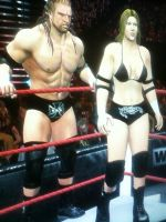HHH And His Female Counterpart by TheRumbleRoseNetwork