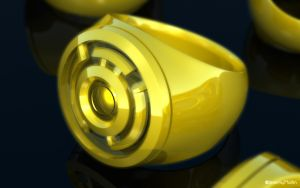 Sinestro Corps Ring by JeremyMallin