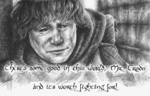 Samwise the Brave by calderamoon