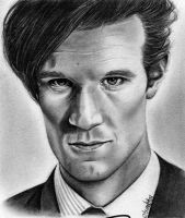 The Doctor - Matt Smith by Mannaz11