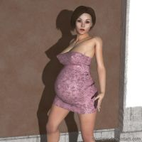 Another Pregnant figure by Manigus