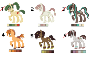 Pony Adopts 3 - 4/6 OPEN by MLPonyAdopts