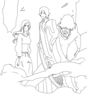 bleach 455 lineart by CkayShirley