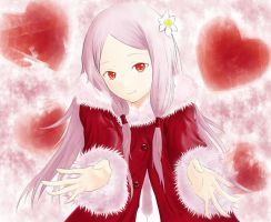 Guilty Crown - Mana heart by griever1018