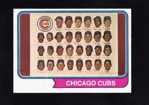 1973 Chicago Cubs 3 by danwind