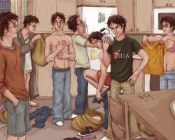 7 Potters by uknow-who