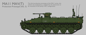 MAV11 MAV(T) APC Production Prototype [Coloured] by SixthCircle