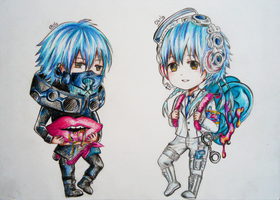 DMMd : Black n White by obily95