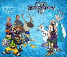 Kingdom Hearts III - Arendelle (artwork) by julian14bernardino
