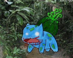 Pokemon Zombies - Bulbasaur by QuestionSleepZz