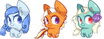 Even More Pixel Ponies by starry-seas