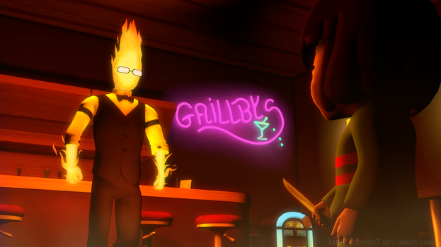 Undertale - Grilled by cfowler7