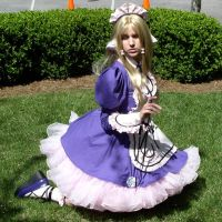 Chii Waitress Costume 1 by SailorEarth316